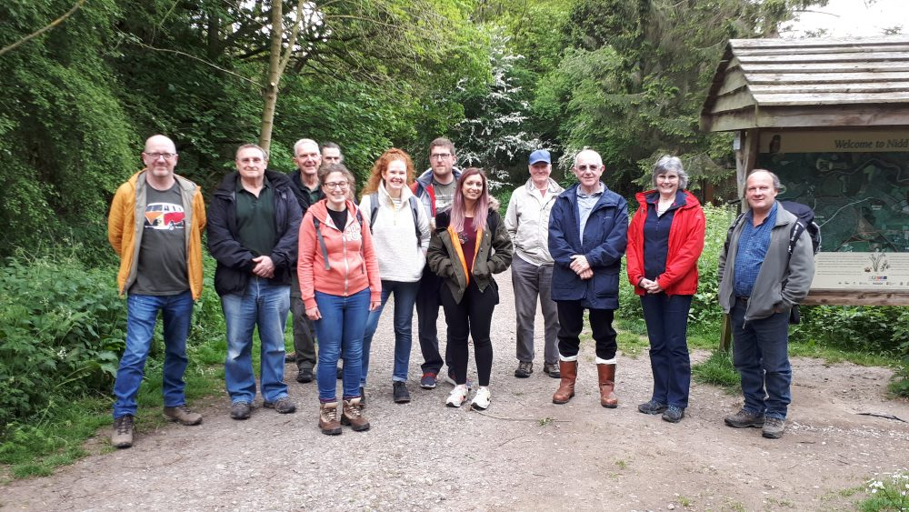 Group at Nidd Gorge 19May19